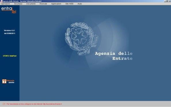 Entratel versione 4.9.1
